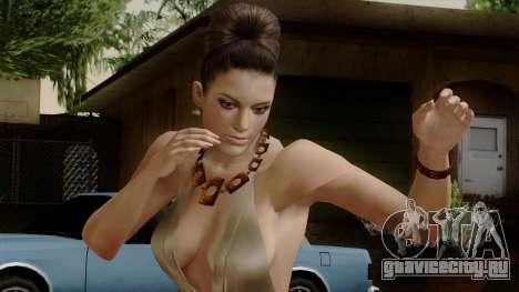 RE5 Excella Gione для GTA San Andreas
