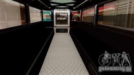 Auto Pormado - Gabshop Custom Jeepney для GTA San Andreas вид сзади