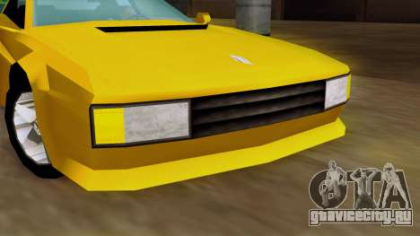 Cheetah from Vice City Stories IVF для GTA San Andreas вид сзади