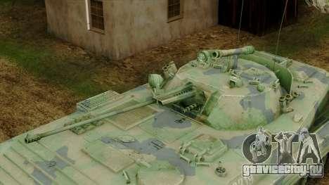 CoD 4 MW 2 BMP-2 Woodland для GTA San Andreas вид сзади
