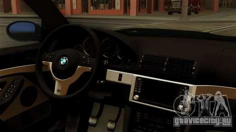 BMW M5 E39 Bucharest для GTA San Andreas вид справа