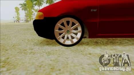 Fiat Palio EDX Turbo Performance для GTA San Andreas вид справа