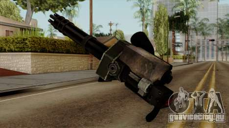 Gatling для GTA San Andreas второй скриншот