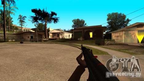 АК-47 Красная Линия из CS:GO для GTA San Andreas четвёртый скриншот