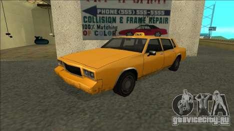 Tahoma Taxi для GTA San Andreas