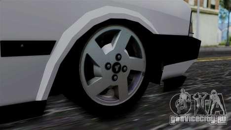 LV Copcar Civil для GTA San Andreas вид сзади слева