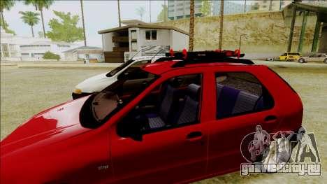 Fiat Palio EDX Turbo Performance для GTA San Andreas вид сзади слева