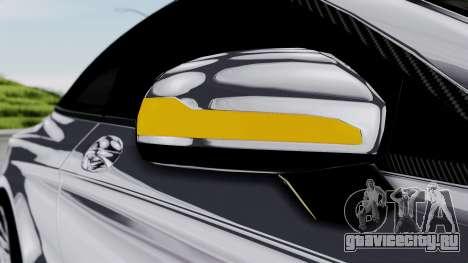 Brabus 850 Chrome для GTA San Andreas вид сверху