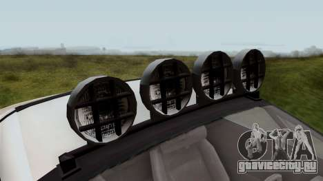 GTA 5 Coil Brawler IVF для GTA San Andreas вид сзади