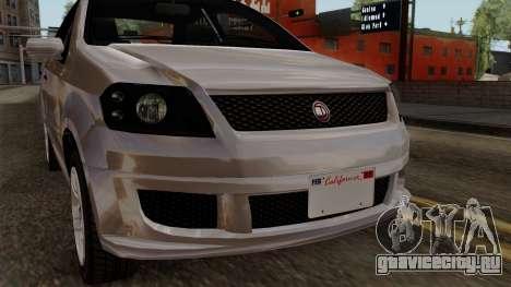 GTA 5 Declasse Asea для GTA San Andreas вид сзади