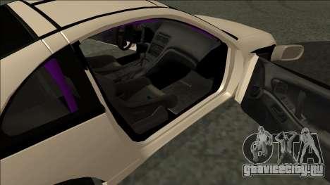 Nissan 300ZX Drift Monster Energy для GTA San Andreas вид сзади слева