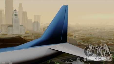 AT-400 Air India для GTA San Andreas вид сзади слева