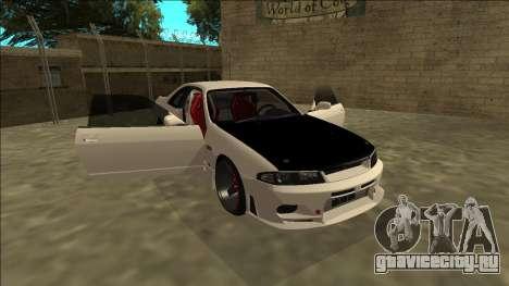 Nissan Skyline R33 Drift для GTA San Andreas вид сбоку