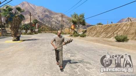 Бейсбольная бита из Saints Row The Third для GTA 5 второй скриншот
