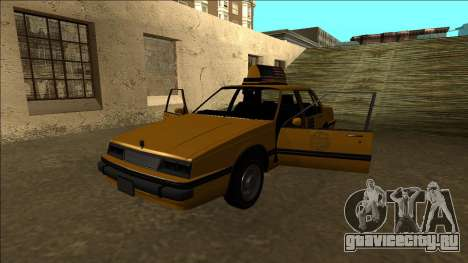 Willard Taxi для GTA San Andreas вид снизу