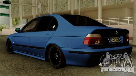 BMW M5 E39 Bucharest для GTA San Andreas вид слева