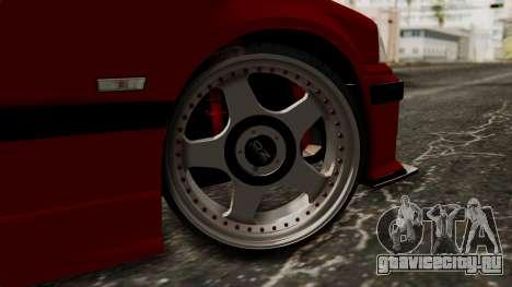 BMW M3 E36 Strike для GTA San Andreas вид сзади слева