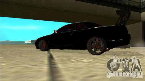 Nissan Skyline R32 Drift для GTA San Andreas двигатель