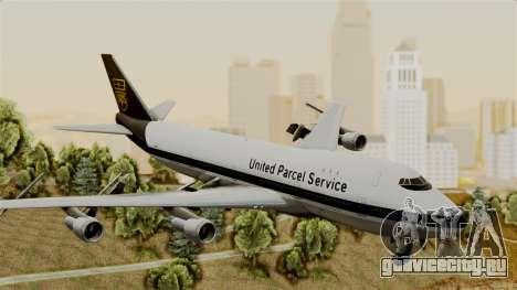Boeing 747-100 UPS Old для GTA San Andreas