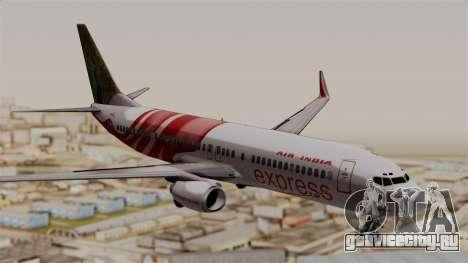 Boeing 737-800 Air India Express для GTA San Andreas