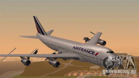 Boeing 747 Air France для GTA San Andreas