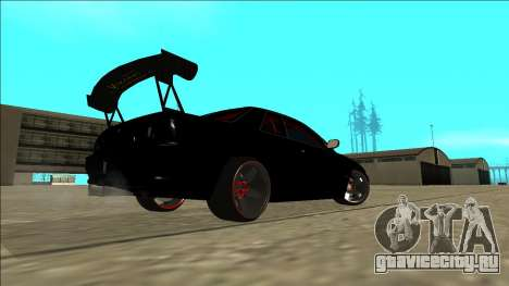 Nissan Skyline R32 Drift для GTA San Andreas вид снизу