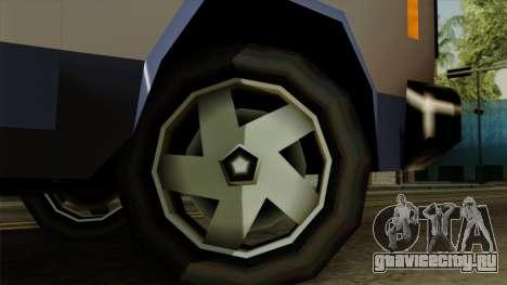 Bobcat from Vice City Stories IVF для GTA San Andreas вид сзади слева