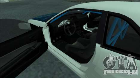 Nissan Skyline R34 Drift для GTA San Andreas вид сверху