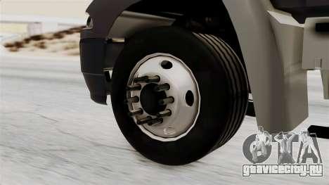Mack Vision Trailer v2 для GTA San Andreas вид сзади слева