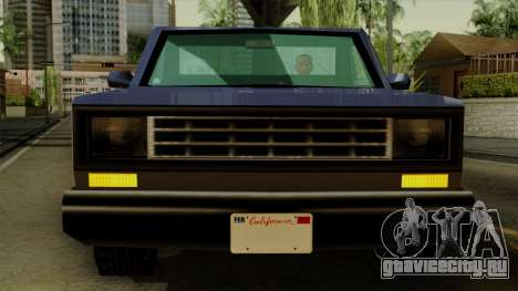 Bobcat from Vice City Stories IVF для GTA San Andreas вид изнутри