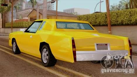 Esperanto from Vice City Stories IVF для GTA San Andreas вид слева