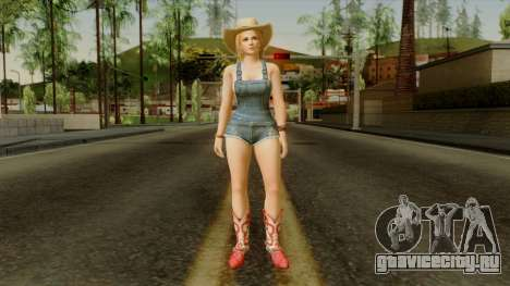Dead Or Alive 5 Tina Overalls для GTA San Andreas второй скриншот