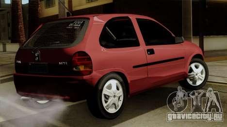 Opel Corsa для GTA San Andreas вид слева