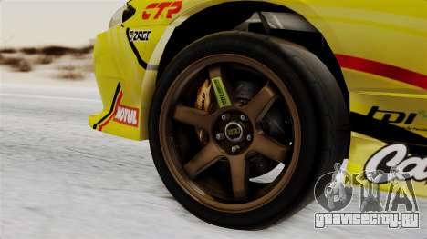 Nissan Silvia S15 RDS NGK для GTA San Andreas вид сзади слева