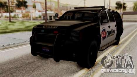 Sheriff Granger Police GTA 5 для GTA San Andreas