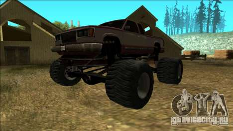 New Yosemite v2 Monster для GTA San Andreas вид слева