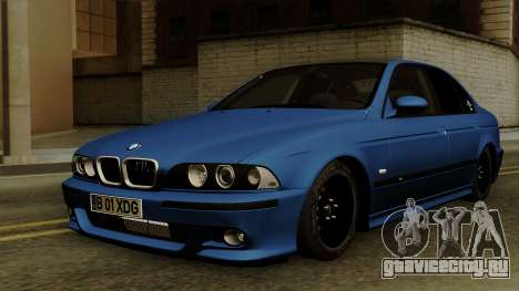 BMW M5 E39 Bucharest для GTA San Andreas