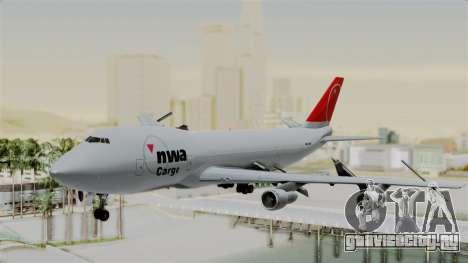 Boeing 747 Northwest Cargo для GTA San Andreas