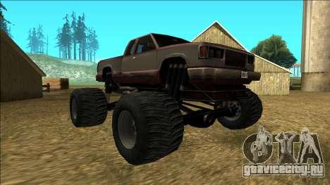 New Yosemite v2 Monster для GTA San Andreas