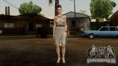 RE5 Excella Gione для GTA San Andreas второй скриншот