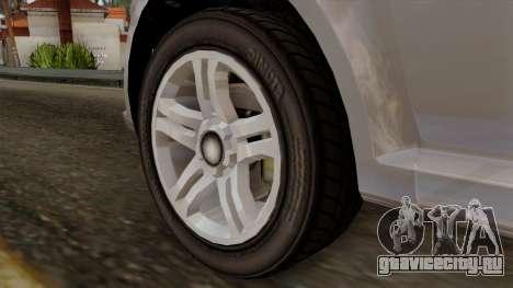 GTA 5 Declasse Asea для GTA San Andreas вид сзади слева