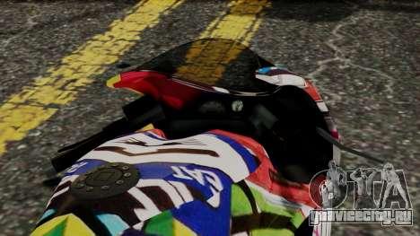 Bati Motorcycle JDM Edition для GTA San Andreas вид справа