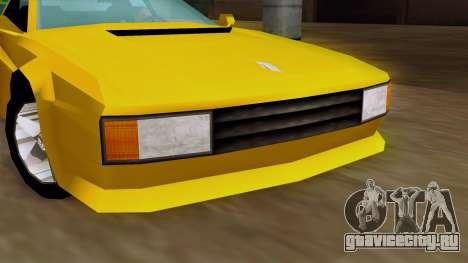 Cheetah from Vice City Stories IVF для GTA San Andreas вид справа