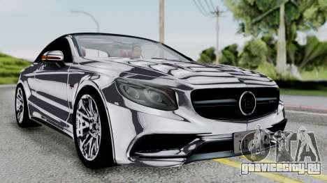 Brabus 850 Chrome для GTA San Andreas