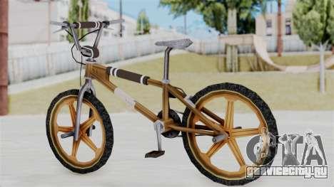 Retro BMX from Bully для GTA San Andreas вид слева