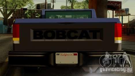 Bobcat from Vice City Stories IVF для GTA San Andreas вид сверху