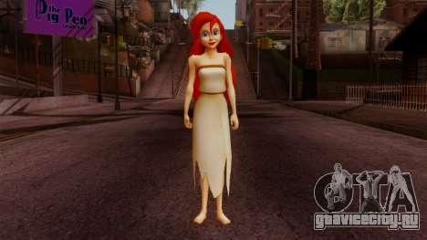 Ariel Mermaid для GTA San Andreas второй скриншот
