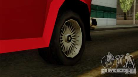 Burrito from Vice City Stories IVF для GTA San Andreas вид сзади слева