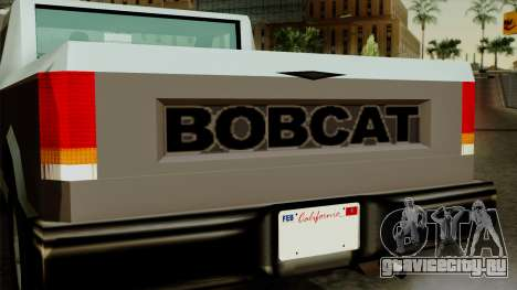 Bobcat from Vice City Stories для GTA San Andreas вид справа
