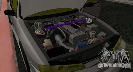 Nissan Silvia S14 JDM v0.1 для GTA San Andreas вид сзади